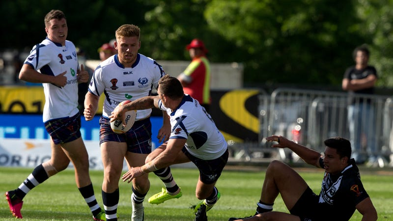 Kiwis thrash Scotland in League World Cup