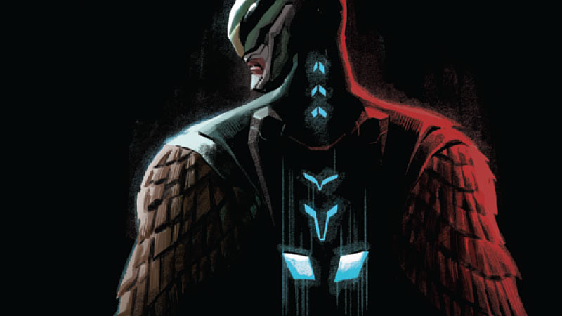 Illustration for article titled Marvel's New Falcon Is a Latino Falcon Man-Hybrid