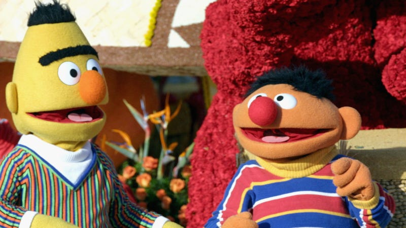 Illustration for article titled Longtime Sesame Street writer says Bert and Ernie are a couple