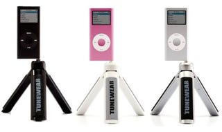 Illustration for article titled Boomtune Mini Offers Form and Function In Its Tripod Speaker