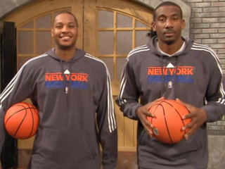 Illustration for article titled VIDEO: Locked-Out Knicks Visit Sesame Street