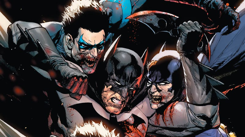 The cover of DCeased #2.