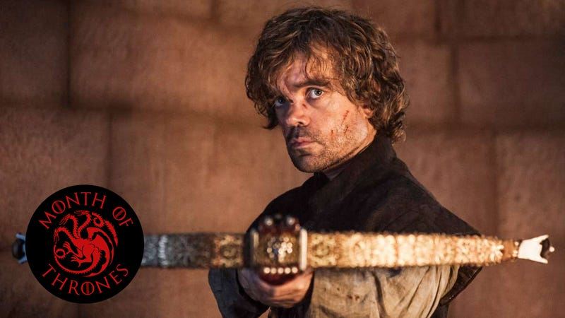 Illustration for article titled Tyrion catches Tywin with his pants down, and severs family ties forever
