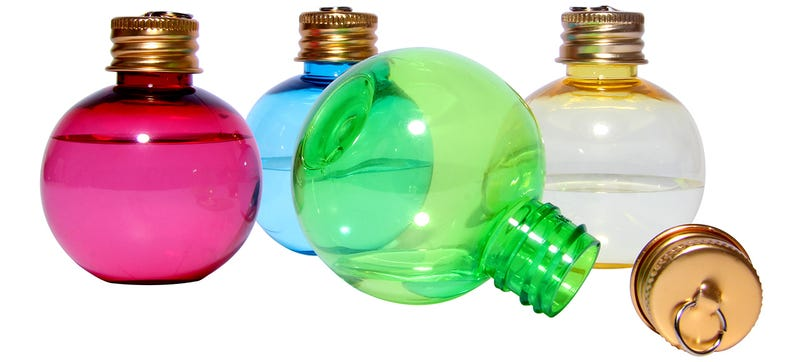 Hide Your Holiday Booze On Your Tree With These Ornament Shot Glasses