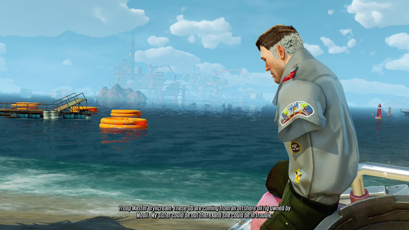 Illustration for article titled Sunset Overdrive's New Expansion Is Short But Sweet