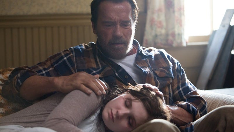 Maggie is not what anyone would expect from a Schwarzenegger zombie movie