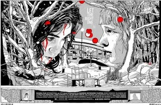 Illustration for article titled New Let The Right One In poster chills your blood