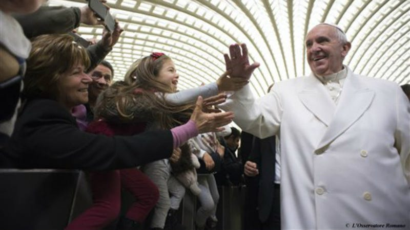 Illustration for article titled Chill Pope Not Always Chill, Successfully Urges Slovenian Voters to Overturn Gay Marriage