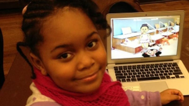 Illustration for article titled 7-Year-Old Zora Ball Is the World's Youngest Game Programmer