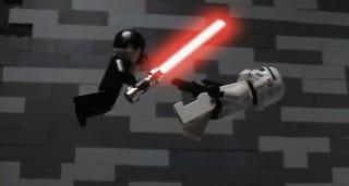 Illustration for article titled LEGO Star Wars: Force Unleashed
