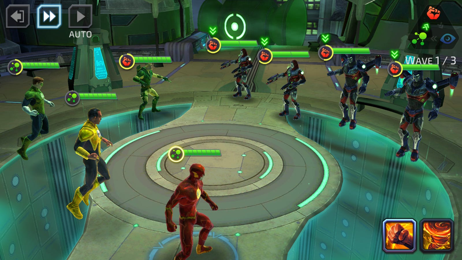 Dc Legends Is Star Wars Galaxy Of Heroes With A Story
