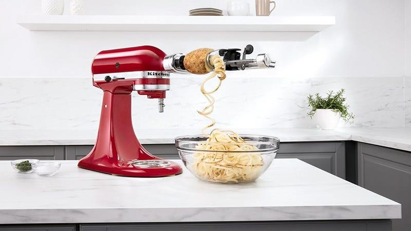 KitchenAid Peeler and Spiralizer Attachment | $64 | Amazon