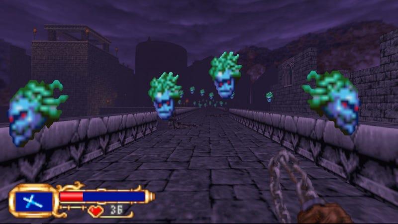 Screenshot: Castlevania: Simon's Destiny