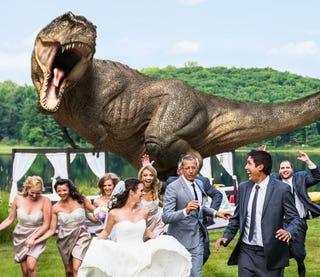 Illustration for article titled Szegény Jeff Goldblumot tényleg üldözik a dinoszauruszok