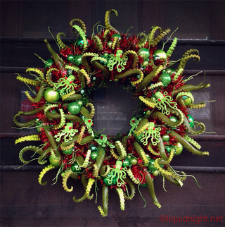 Illustration for article titled Celebrate The Holidays And The Elder Gods With This Cthulhumas Wreath