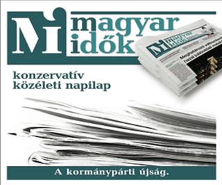 Illustration for article titled A Magyar Idők szlogenje: A seggnyalás sosem lehet ellenzékben