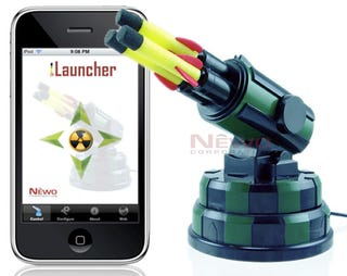 Illustration for article titled iLauncher Gives You iPhone Controls for USB Missile Launcher