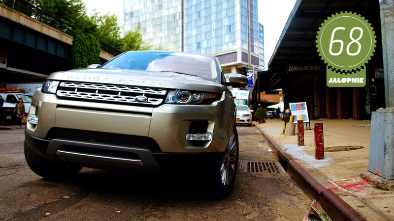 Illustration for article titled 2013 Range Rover Evoque: The Jalopnik Review