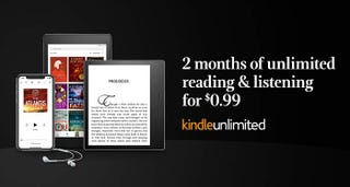 Two Months Kindle Unlimited | $1 | Amazon | New accounts only