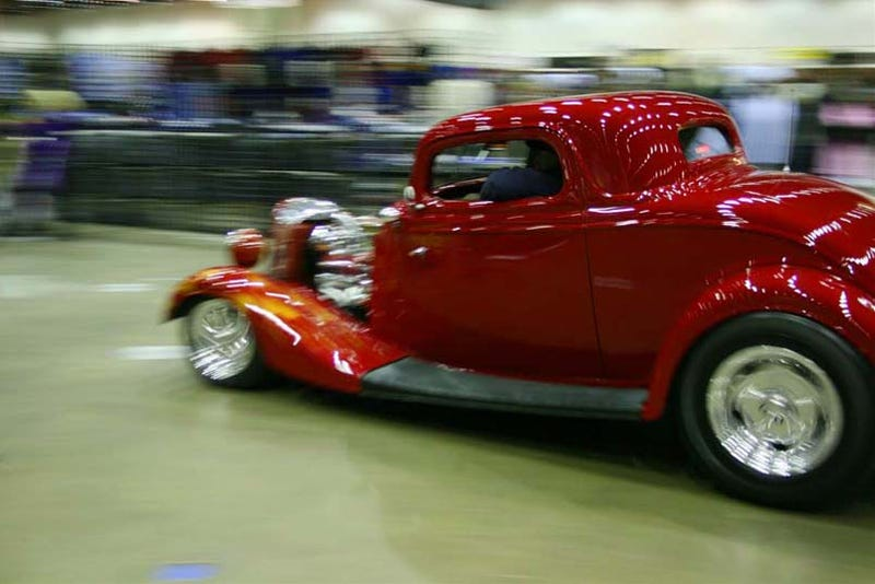 Illustration for article titled 2009 Detroit Autorama Wrap Up: Driving Out