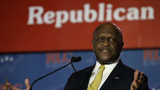 Herman Cain tweeted from beyond the grave... to attack Joe Biden