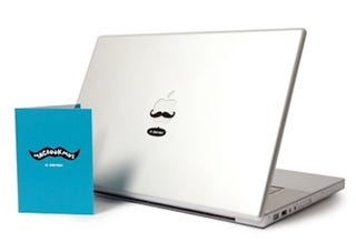 Illustration for article titled Yeah, Bro! My MacBook Has A Pedostache
