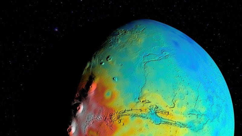 It Looks Like We Were Wrong About a Basic Property of Mars