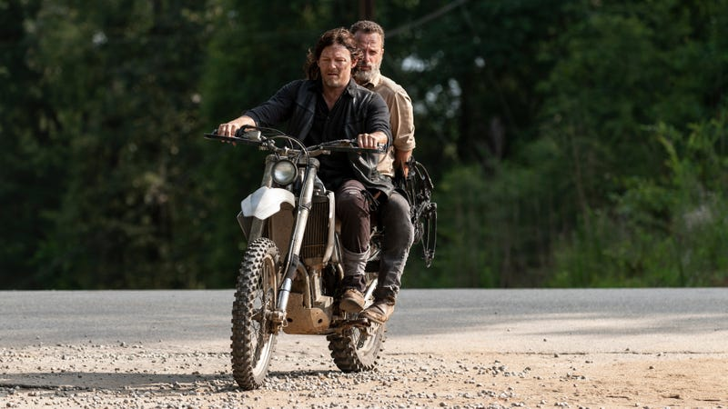 A very special episode of Ride With Norman Reedus.
