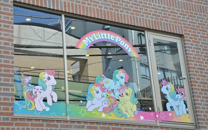 Illustration for article titled Japan Has a My Little Pony Cafe