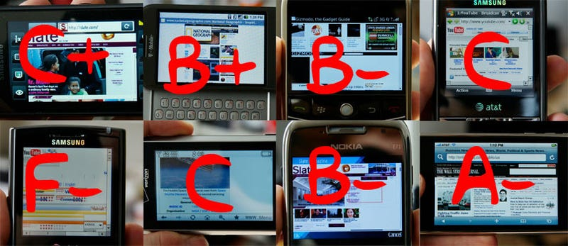 Illustration for article titled Mobile Browser Battlemodo: Which Phones Deliver The Real Web