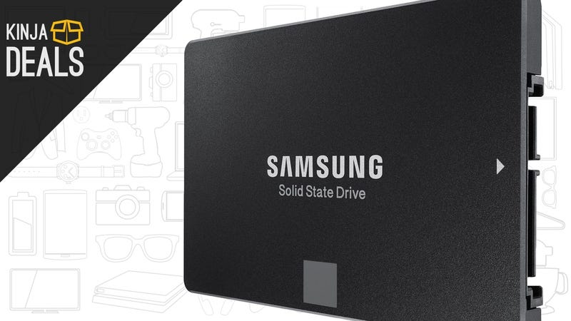Illustration for article titled Give Your Files The Home They Deserve With This 1TB Samsung SSD