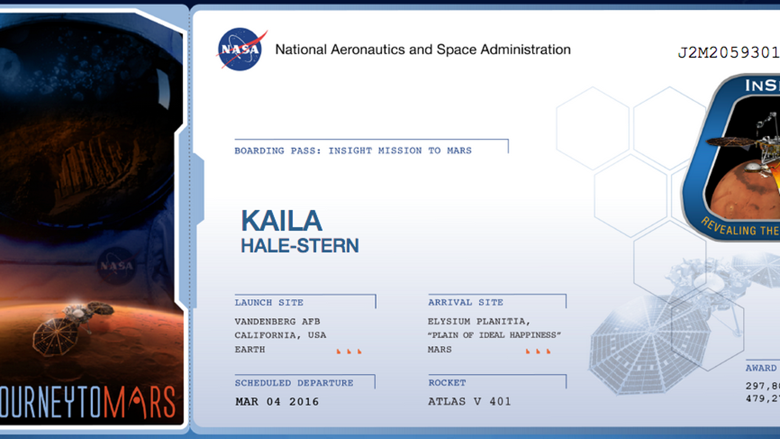 Sign Up To Send Your Name To Mars With NASA