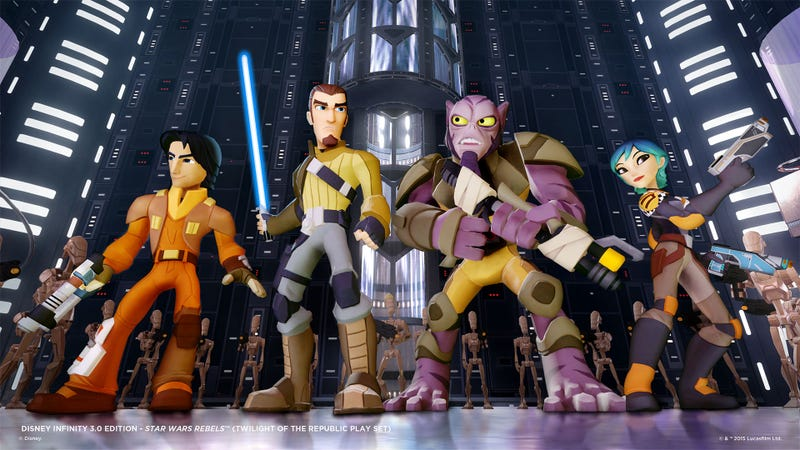Illustration for article titled My Current Favorite Star Wars Characters Join Disney Infinity 3.0