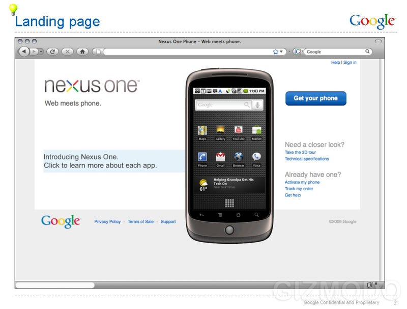 Illustration for article titled Leaked Nexus One Documents: $530 Unlocked, $180 With T-Mobile