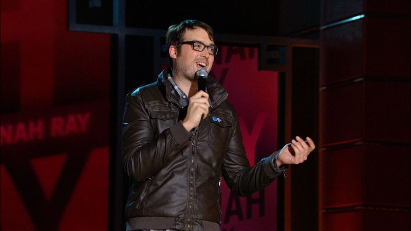 Illustration for article titled Nerdist's Jonah Ray launches his own Literally Figurative comedy and music label
