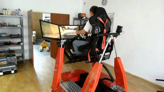 Everything I Want For Christmas Is This 3D Racing Simulator