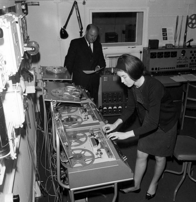 Illustration for article titled Delia Derbyshire - Genius
