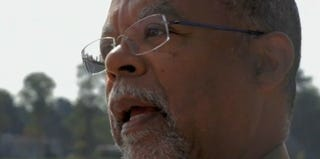 Screenshot of Henry Louis Gates Jr. in PBS' The African Americans: Many Rivers to Cross