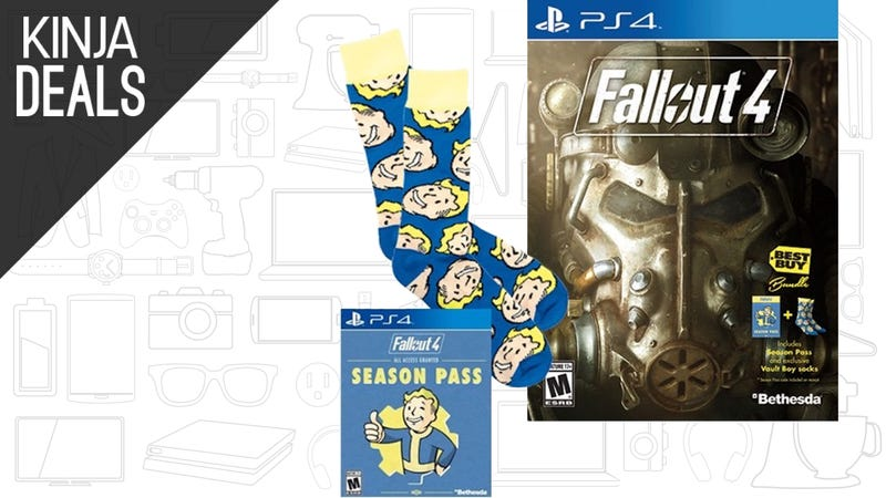 Illustration for article titled Today's Best Gaming Deals: Fallout Sock Bundle, Gunnar Glasses, and More