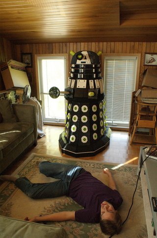 This Life Size Dr Who Lego Dalek Will Exterminate You