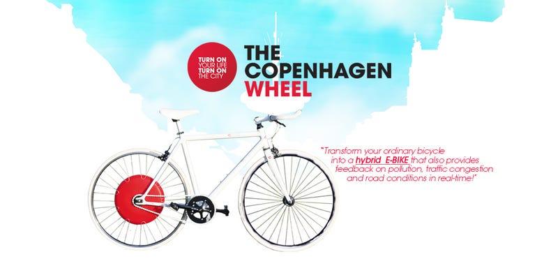 Illustration for article titled The Copenhagen wheel