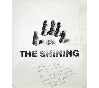 Illustration for article titled Rejected Saul Bass Posters For The Shining—With Stanley Kubrick's Notes