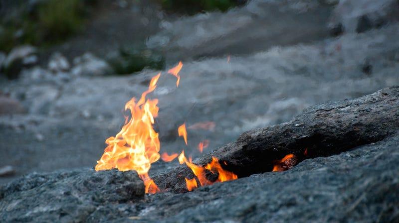 Científicos descubren el origen de las llamas eternas del Monte Quimera