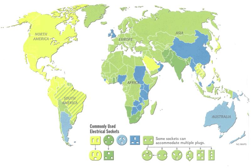 Illustration for article titled Estos son todos los tipos de enchufes que se utilizan en cada país