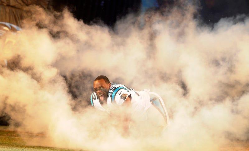 Carolina Panthers fullback Mike Tolbert. AP Photo/Mike McCarn