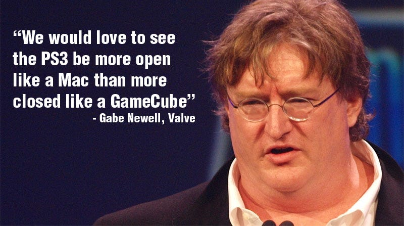 Illustration for article titled Valve: PS3 Is Like A GameCube