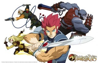 Illustration for article titled First Thundercats picture