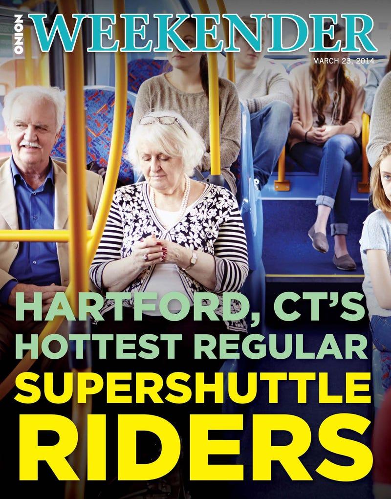 Illustration for article titled Hartford, CT's Hottest Regular SuperShuttle Riders