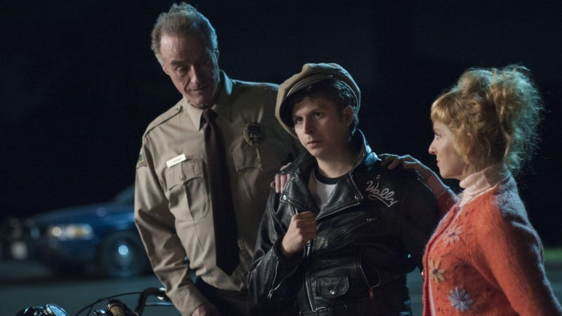 Harry Goaz, Michael Cera, and Kimmy Robertson. (Photo: Suzanne Tenner/Showtime)