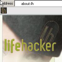 "Illustration for article titled Internet Explorer keyword bookmarks with ""about:"""